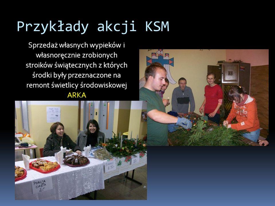 Przykłady akcji KSM