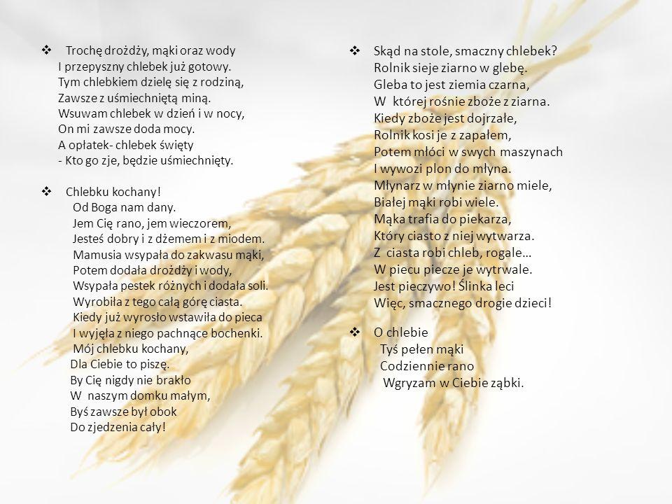 Skąd na stole, smaczny chlebek Rolnik sieje ziarno w glebę.