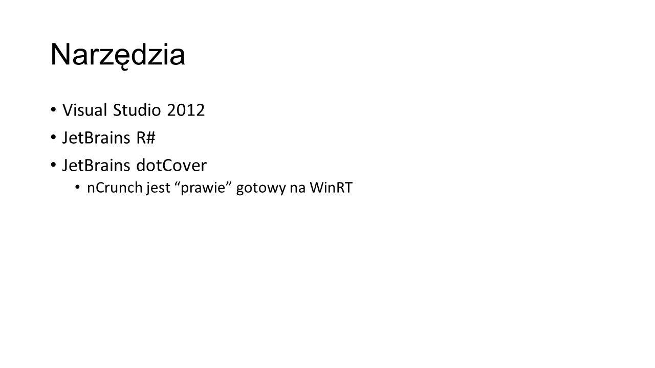 Narzędzia Visual Studio 2012 JetBrains R# JetBrains dotCover