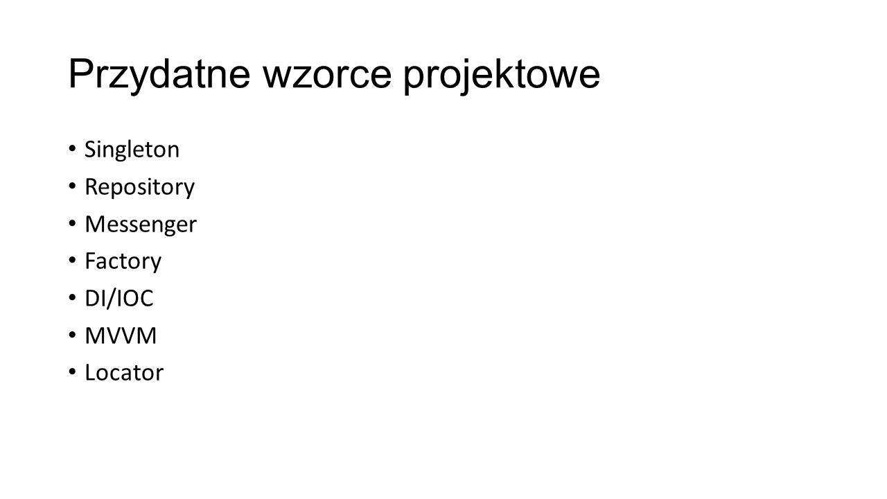 Przydatne wzorce projektowe