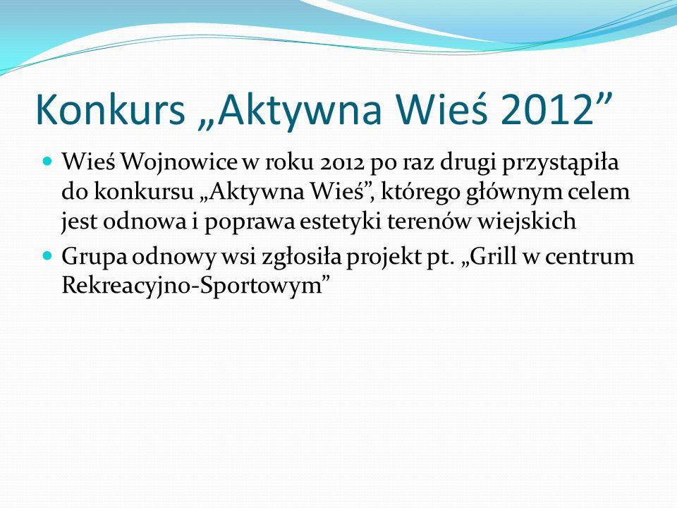 """Konkurs """"Aktywna Wieś 2012"""