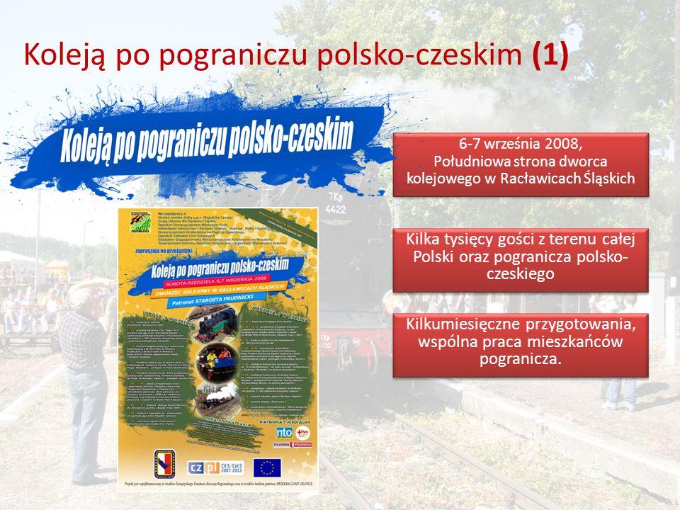 Koleją po pograniczu polsko-czeskim (1)