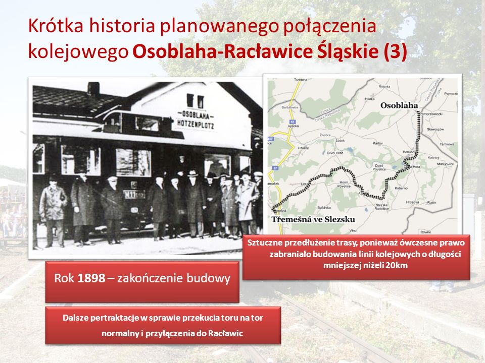 Rok 1898 – zakończenie budowy