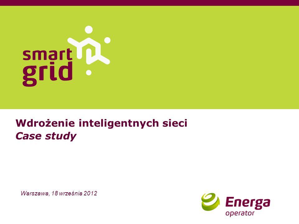 Wdrożenie inteligentnych sieci Case study