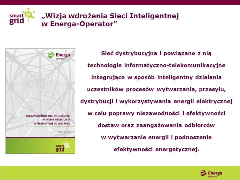 """""""Wizja wdrożenia Sieci Inteligentnej w Energa-Operator"""