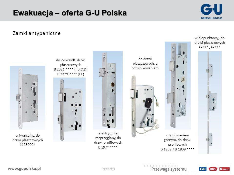 Ewakuacja – oferta G-U Polska