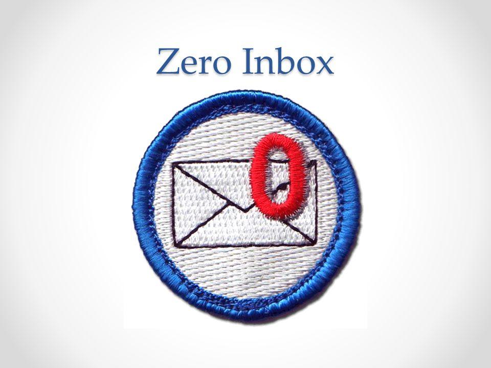 Zero Inbox Moja prywatna kampania…
