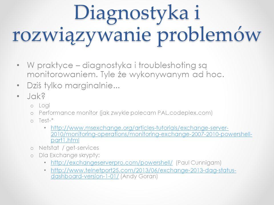 Diagnostyka i rozwiązywanie problemów