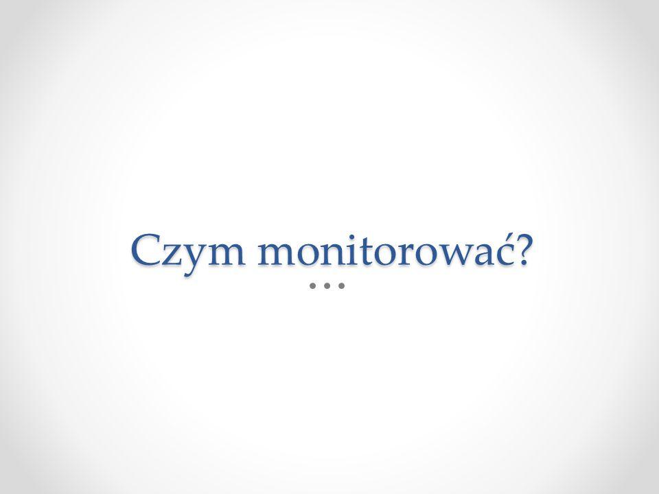 Czym monitorować