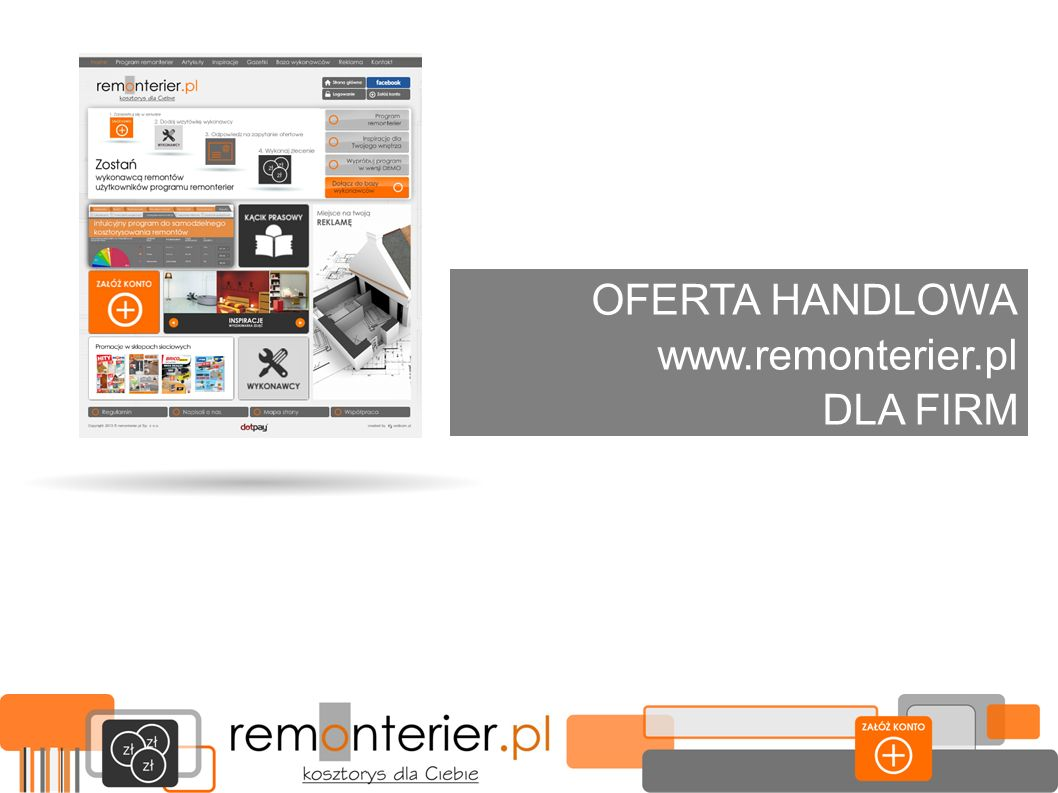 OFERTA HANDLOWA www.remonterier.pl DLA FIRM
