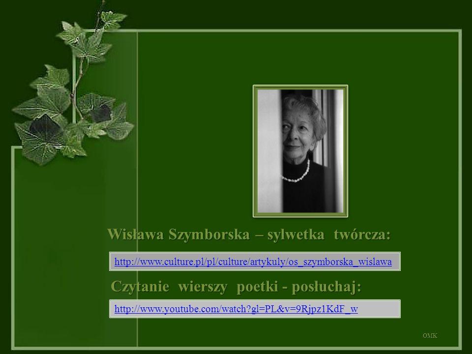 Wisława Szymborska – sylwetka twórcza: