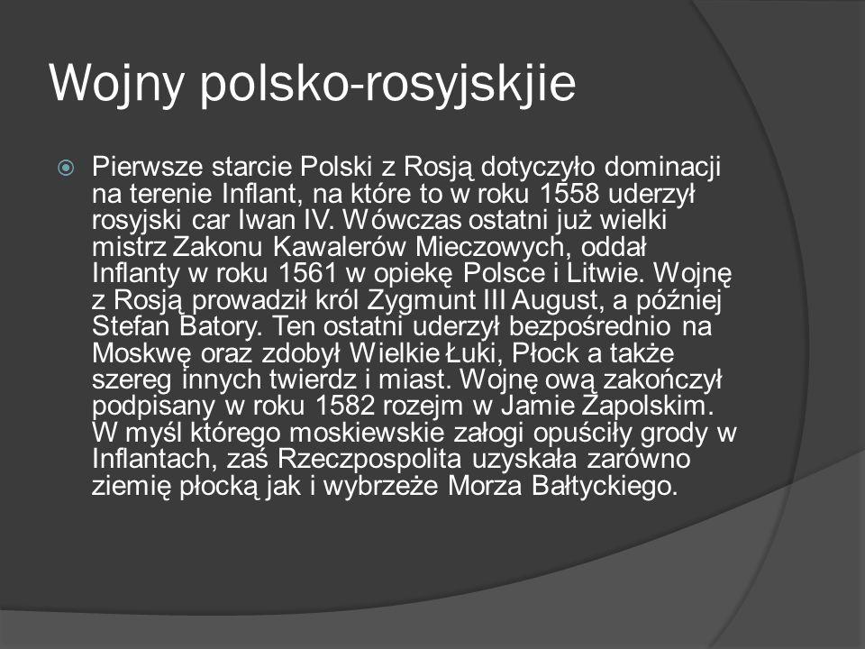 Wojny polsko-rosyjskjie