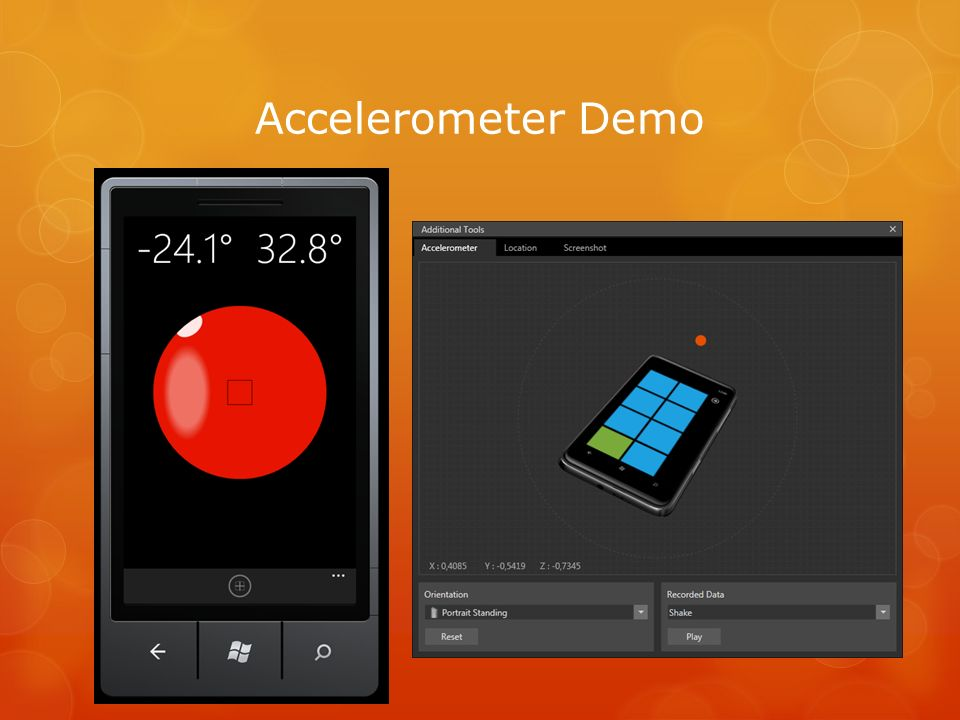 Accelerometer Demo