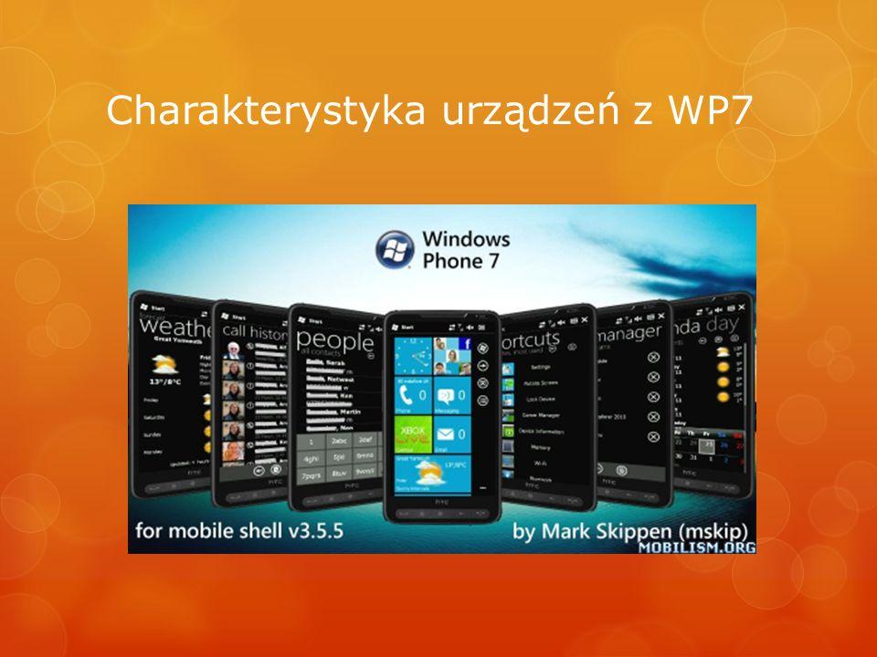 Charakterystyka urządzeń z WP7