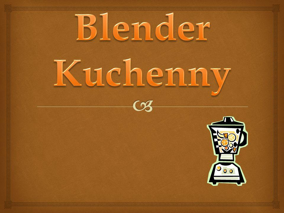 Blender Kuchenny