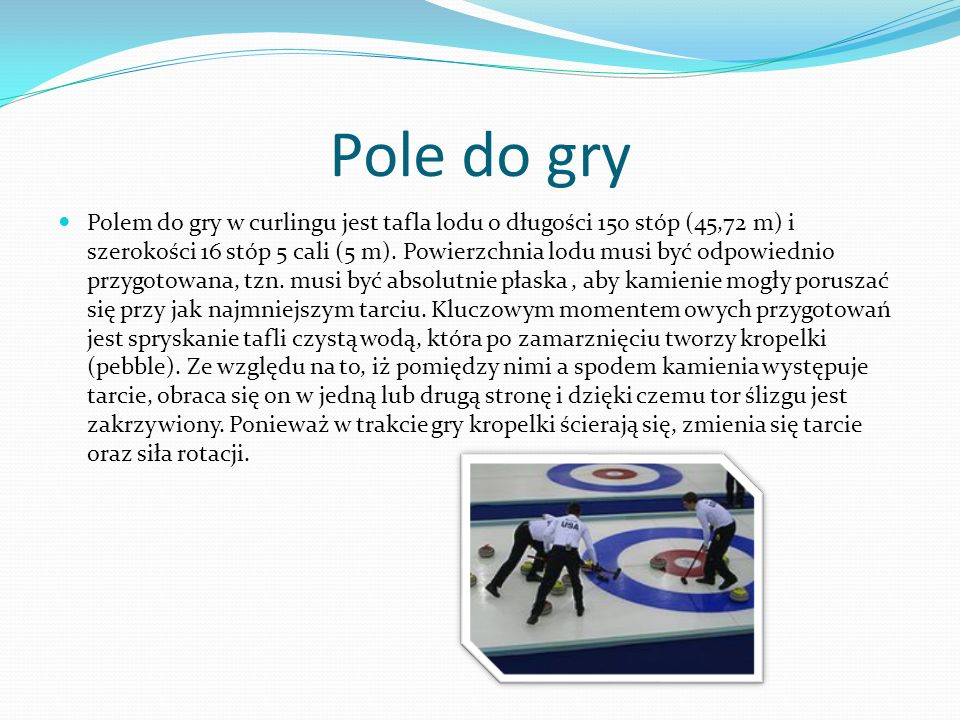 Pole do gry
