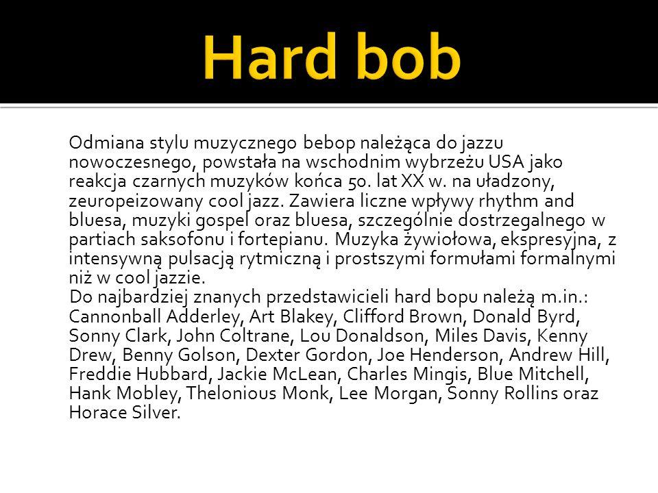 Hard bob