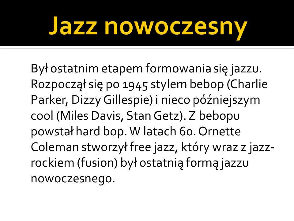 Jazz nowoczesny