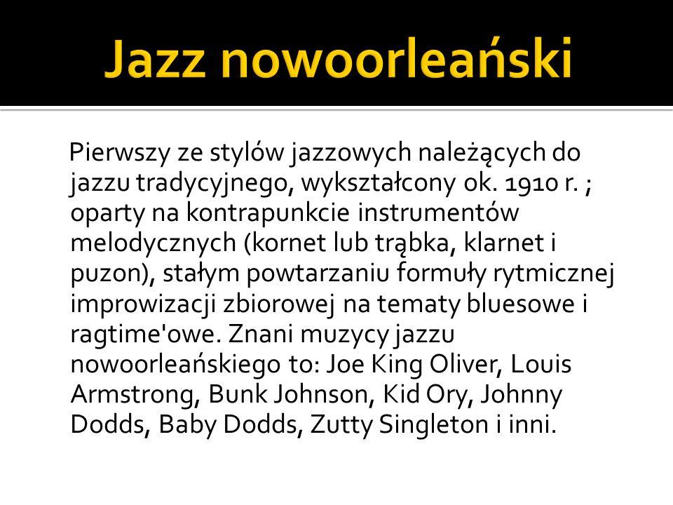 Jazz nowoorleański