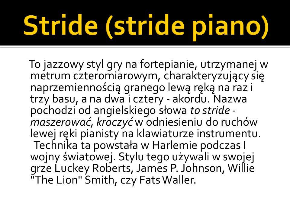 Stride (stride piano)