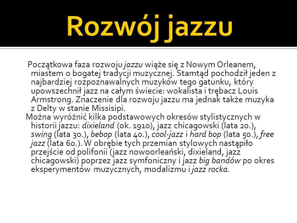 Rozwój jazzu