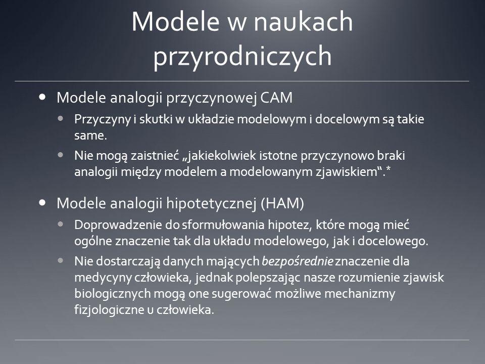 Modele w naukach przyrodniczych