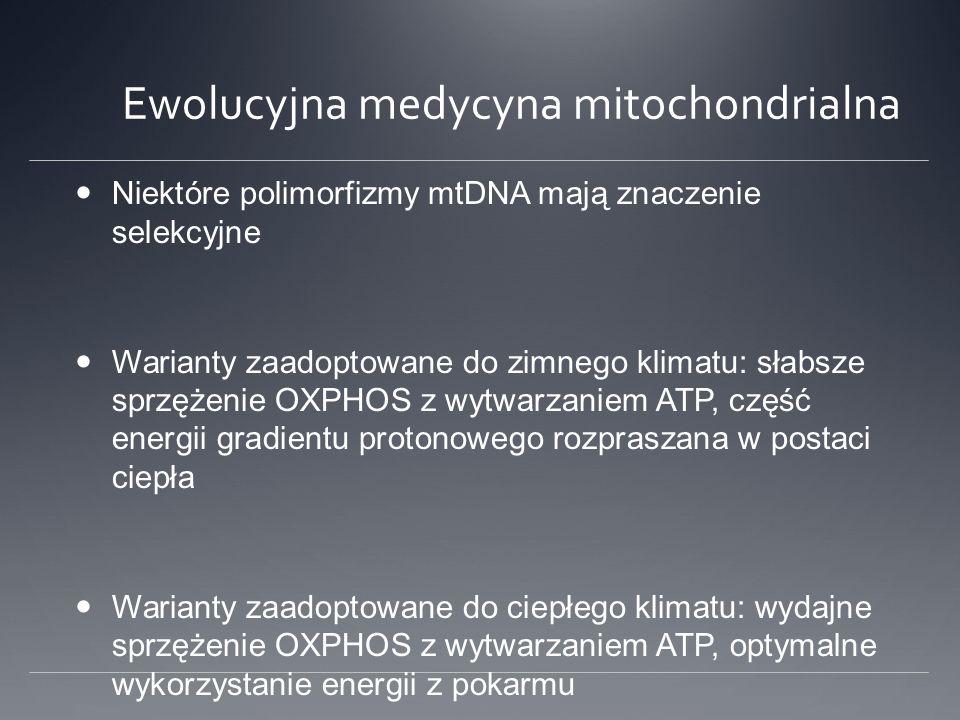 Ewolucyjna medycyna mitochondrialna