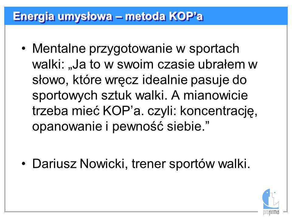 Dariusz Nowicki, trener sportów walki.