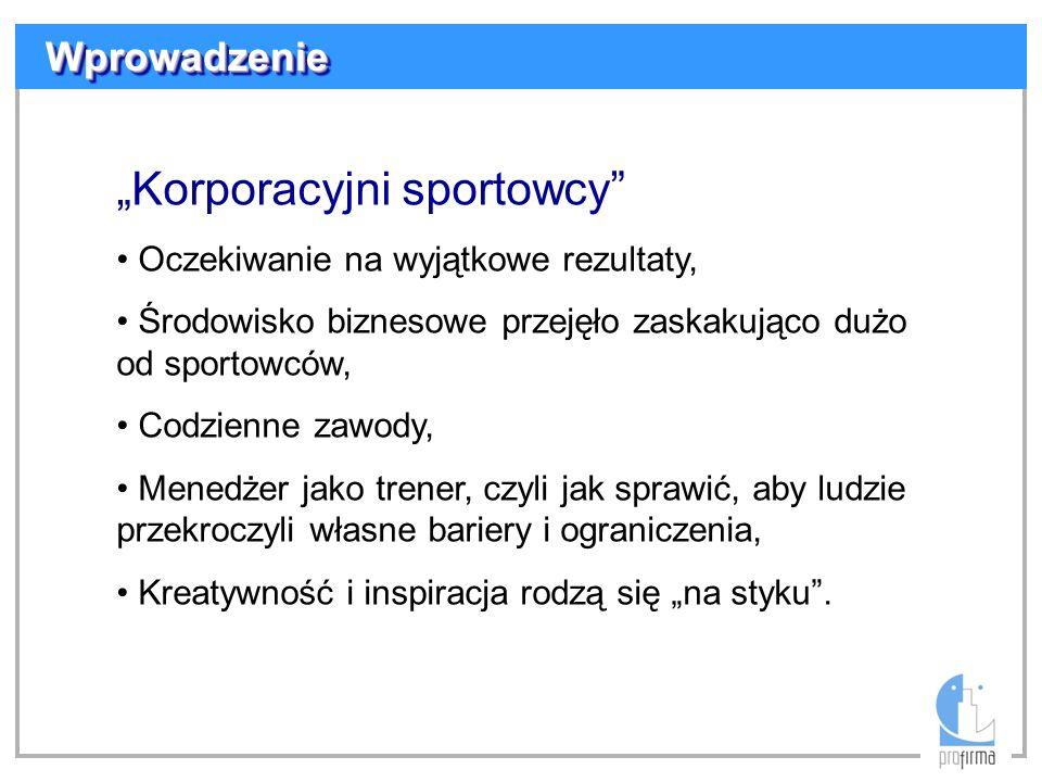 """""""Korporacyjni sportowcy"""