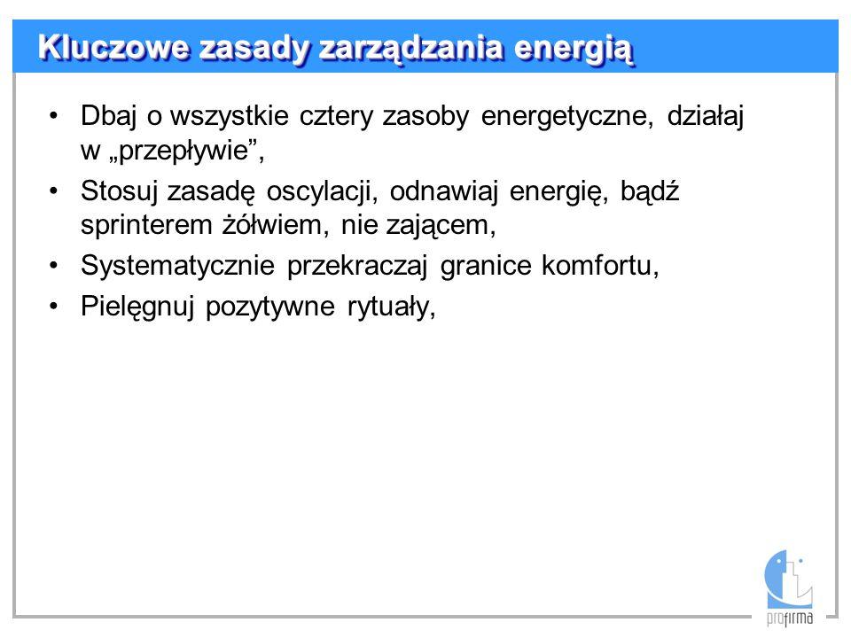 Kluczowe zasady zarządzania energią