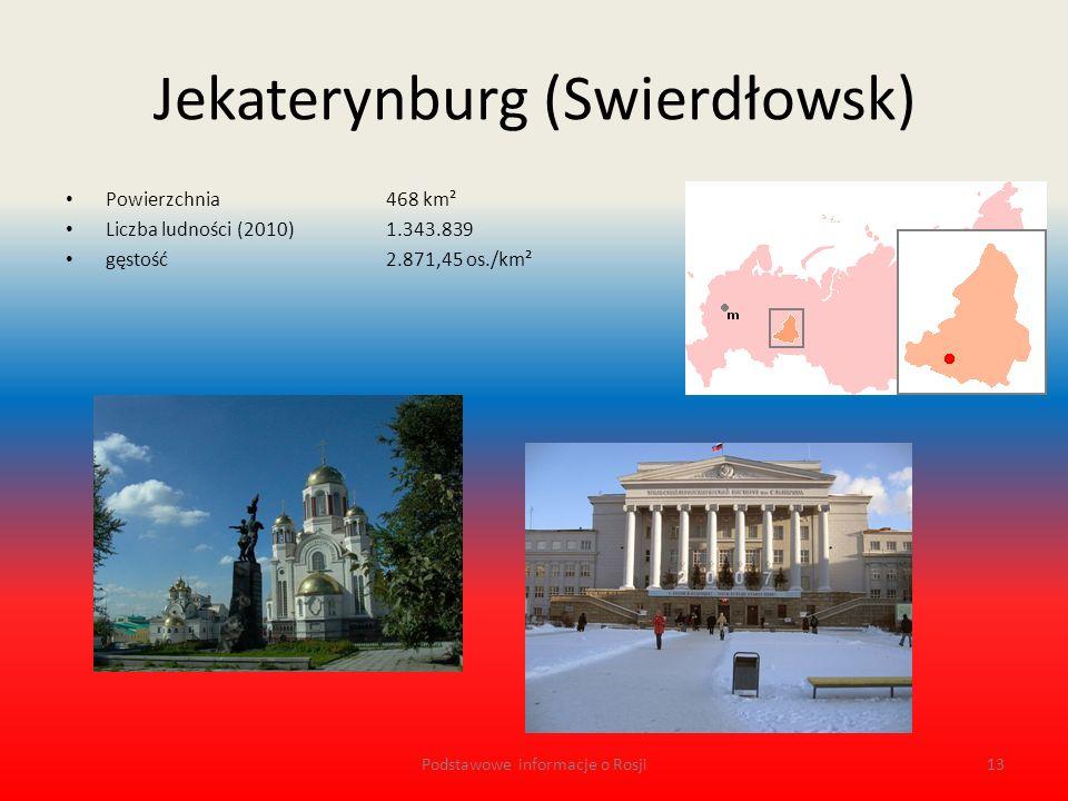 Jekaterynburg (Swierdłowsk)