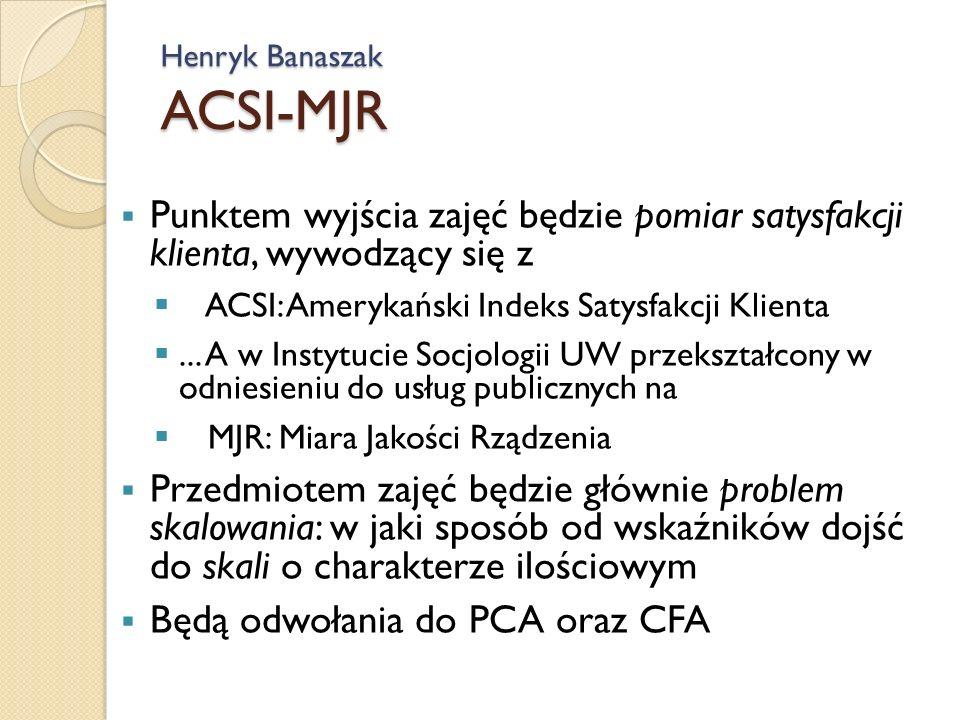 Henryk Banaszak ACSI-MJR