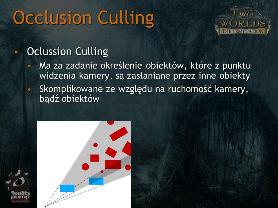Occlusion Culling Oclussion Culling