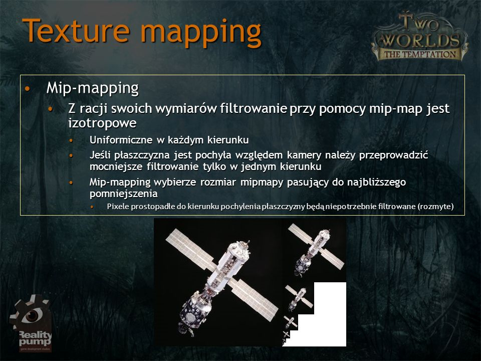 Texture mapping Mip-mapping