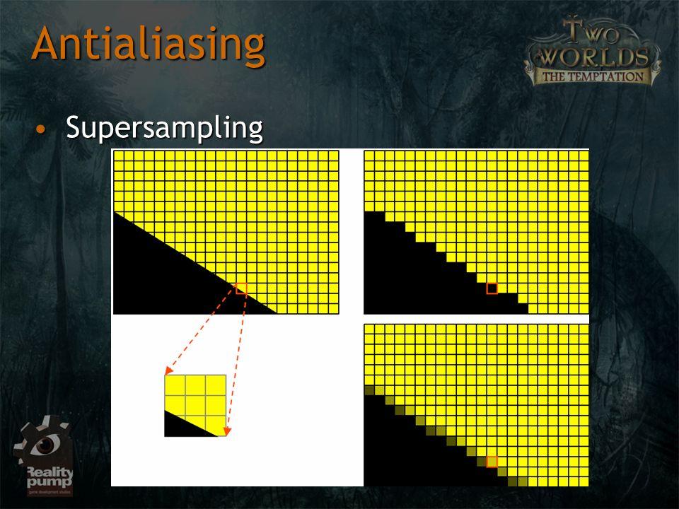 Antialiasing Supersampling