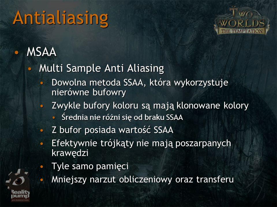Antialiasing MSAA Multi Sample Anti Aliasing
