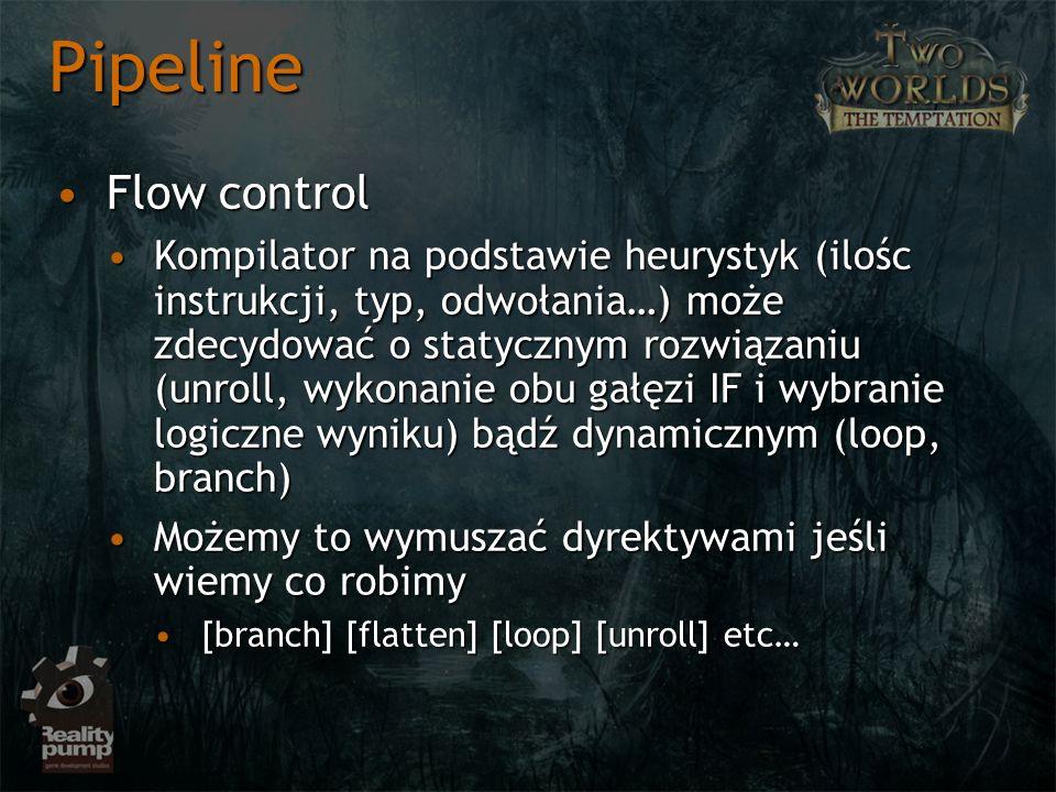 Pipeline Flow control.