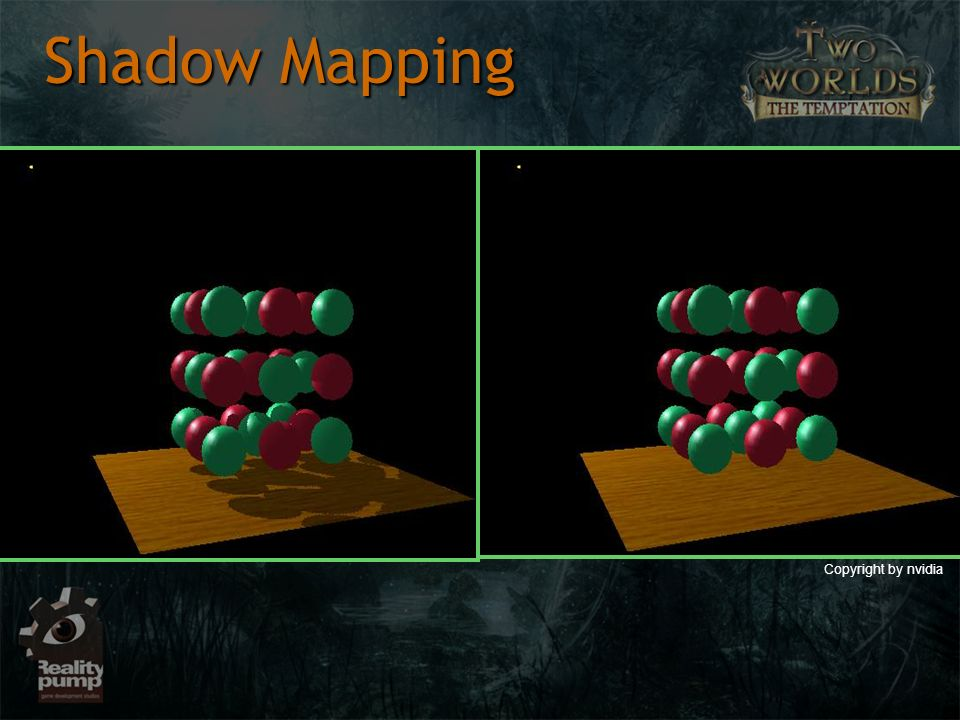 Shadow Mapping Copyright by nvidia