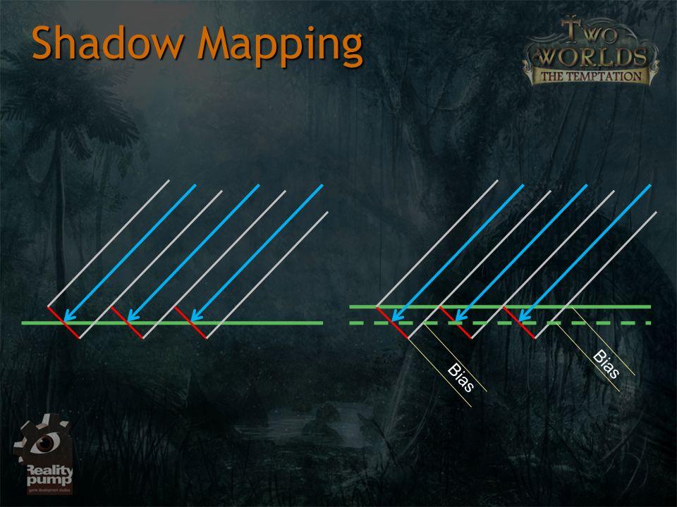 Shadow Mapping Bias Bias