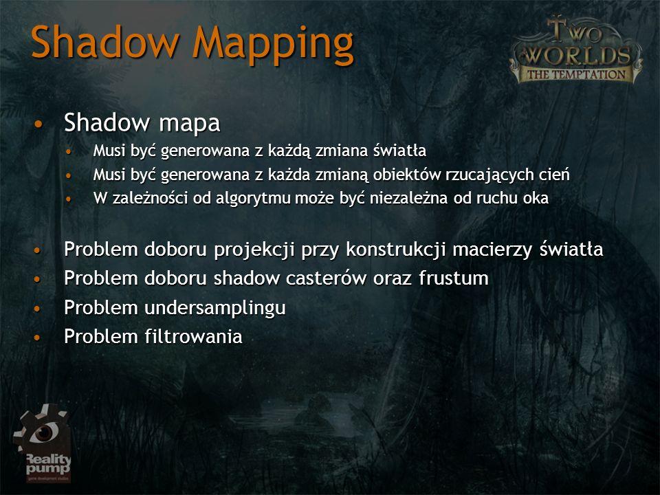 Shadow Mapping Shadow mapa
