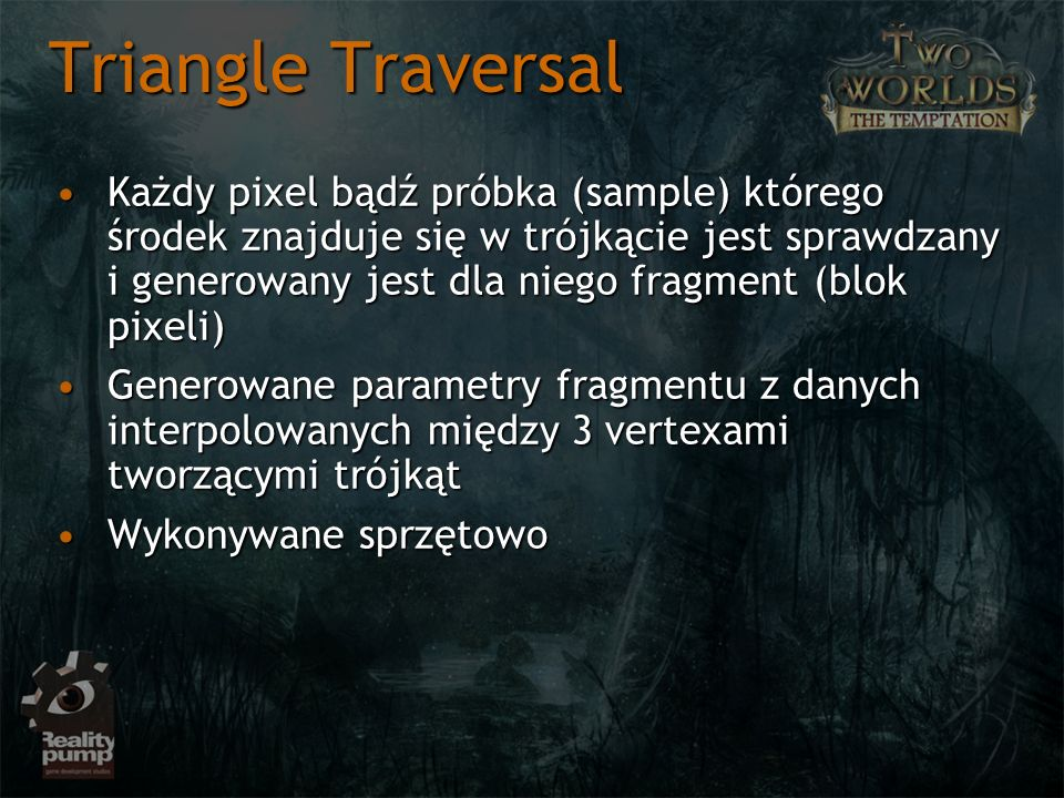 Triangle Traversal