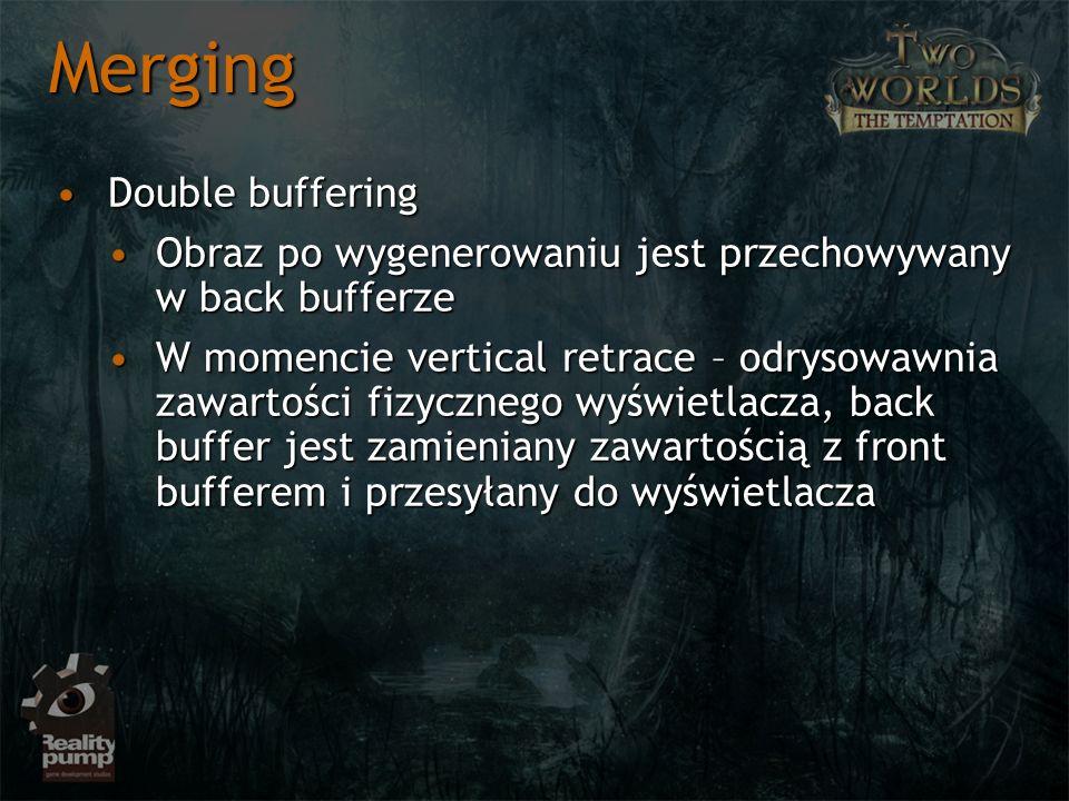 Merging Double buffering