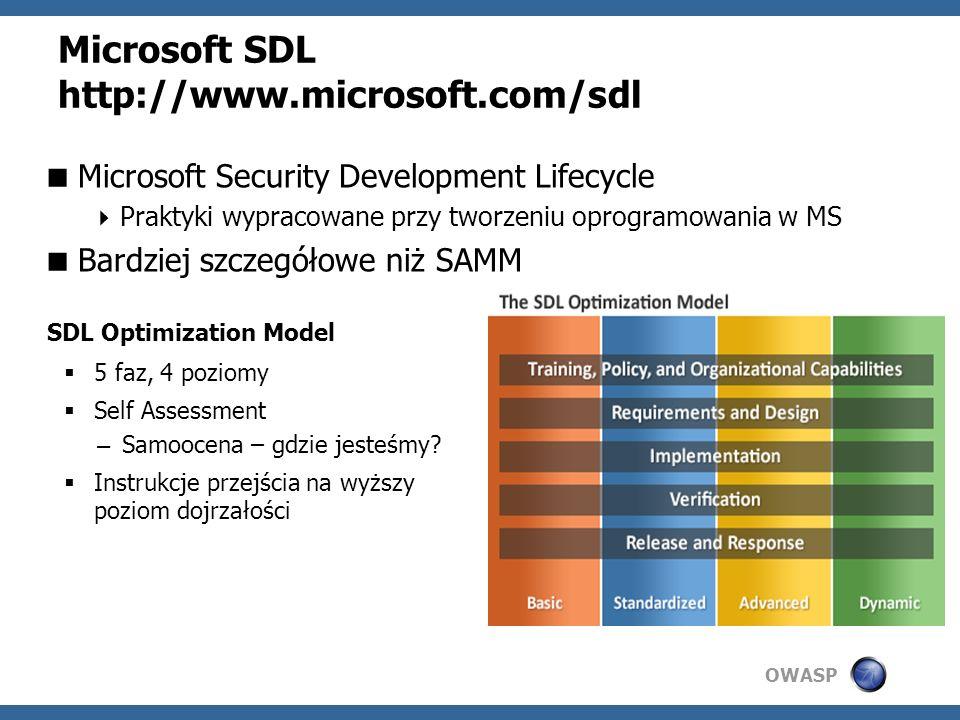 Microsoft SDL http://www.microsoft.com/sdl