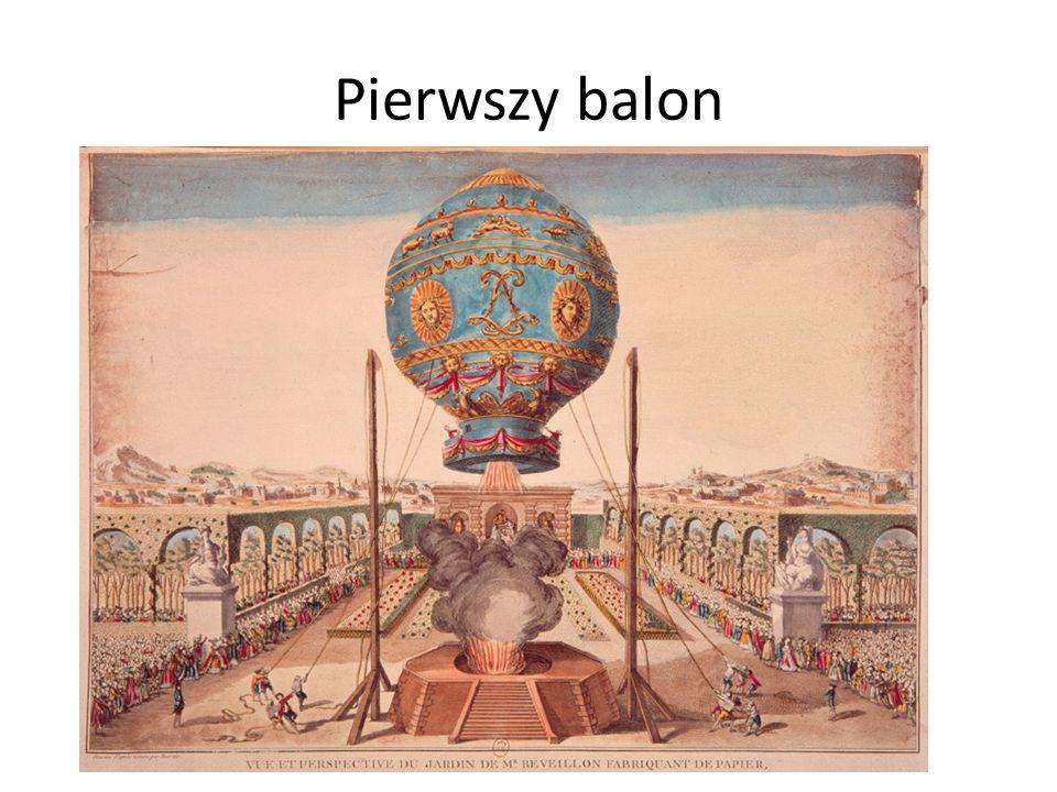 Pierwszy balon
