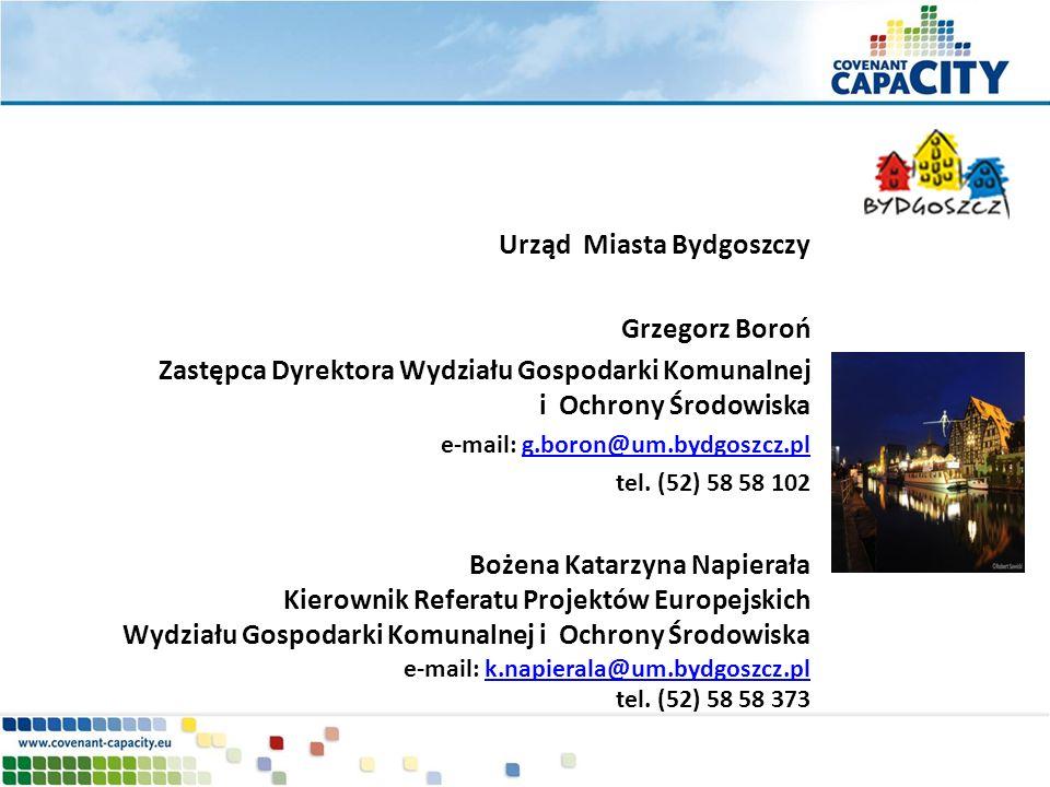 Urząd Miasta Bydgoszczy Grzegorz Boroń