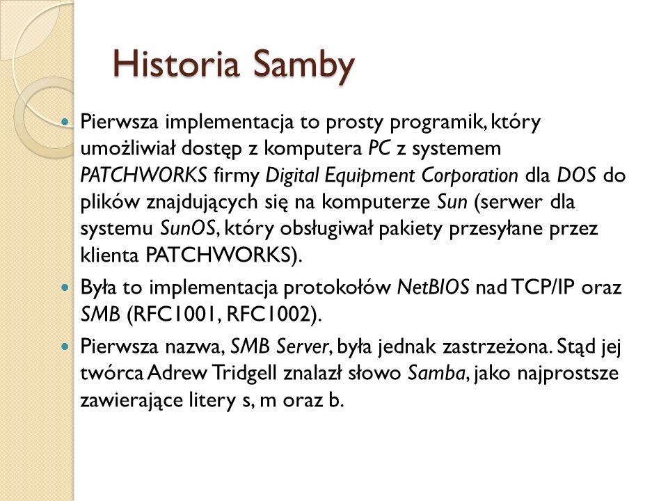 Historia Samby