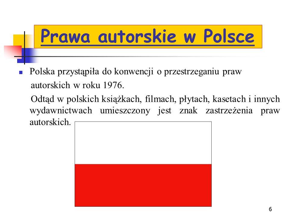 Prawa autorskie w Polsce