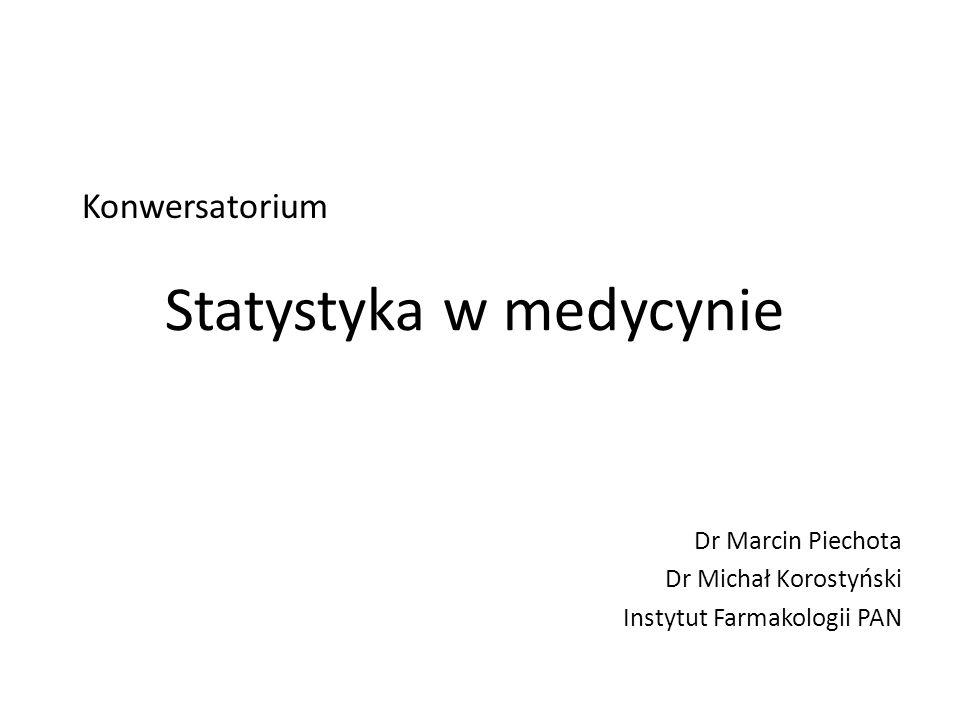 Dr Marcin Piechota Dr Michał Korostyński Instytut Farmakologii PAN