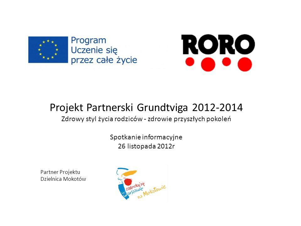 Projekt Partnerski Grundtviga 2012-2014