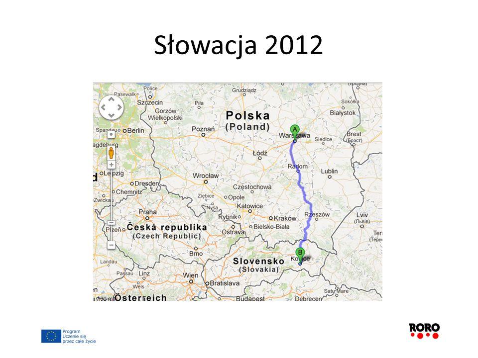 Słowacja 2012